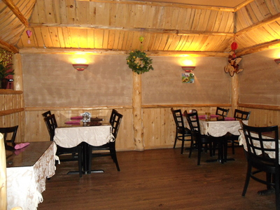 One side of our upper dining room, perfect for a party, a family 
